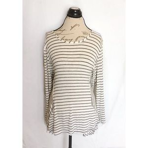 Style Co Striped Blouse